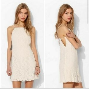 Pins & Needles Lace Shift Mini Dress XS